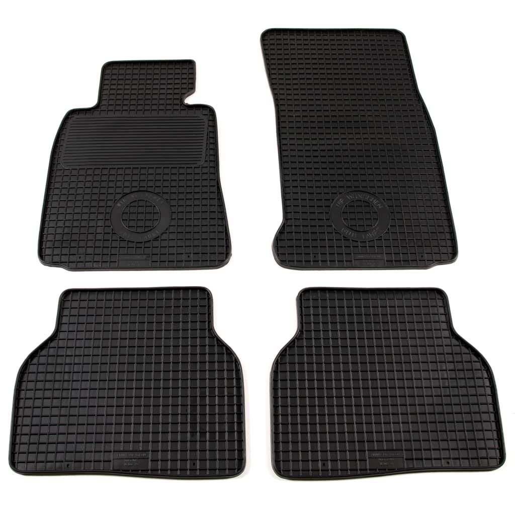Alfombrillas para Coche Alfombrillas Goma 4 Piezas BMW 5 Series Festnight E39