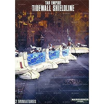 Tau Empire Tidewall Shieldline: Toys & Games
