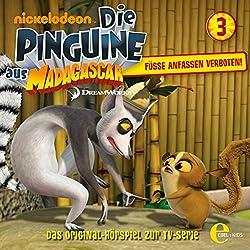 Füsse anfassen verboten (Die Pinguine aus Madagascar 3)