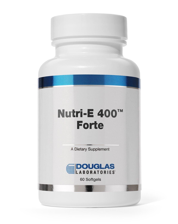 Douglas Laboratories - Nutri E-400 Forte - Vitamin E Antioxidant Support for Oxygenation, Liver, and Immune Function* - 60 Capsules by Douglas Laboratories