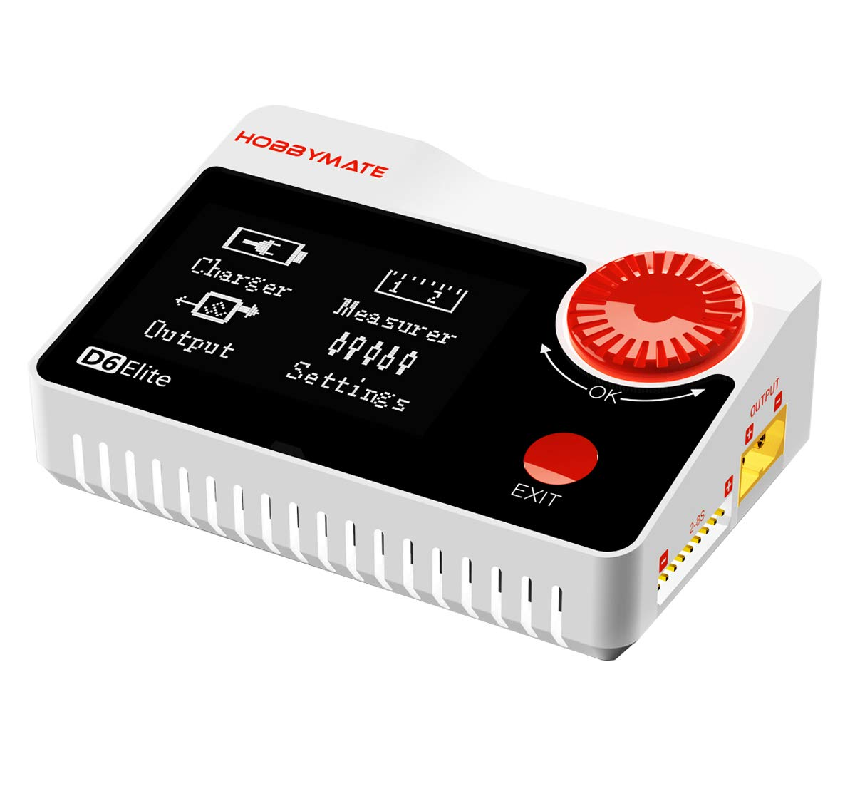 HOBBYMATE 300W 15A Lipo Battery Charger, Cell Checker, Servo Tester