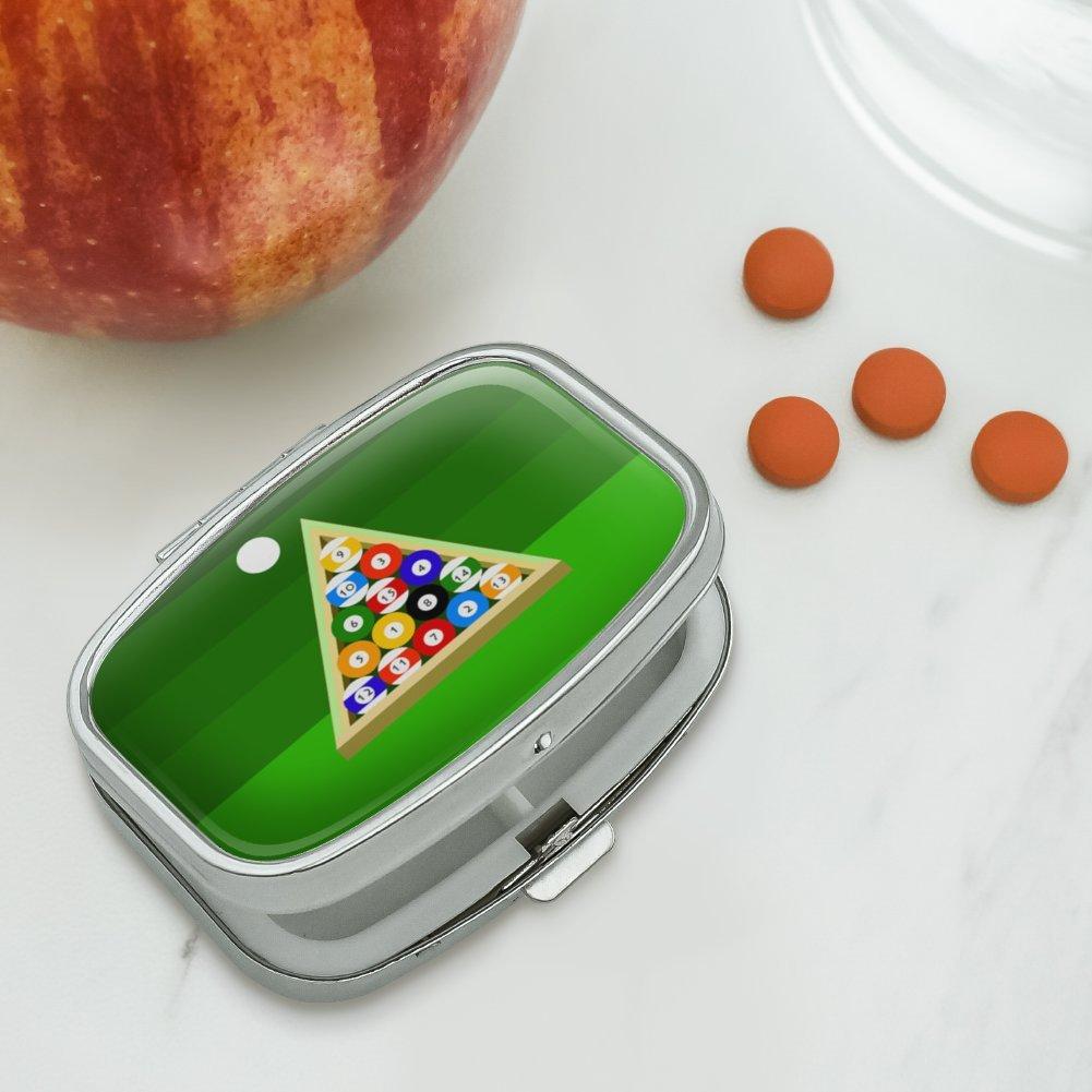 Bolas de billar y Triángulo mesa de billar rectangular pastillero ...
