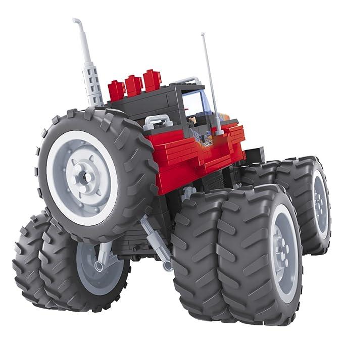 ColorBaby - Juego de bloques, construcción coche 4 x 4 y ruedas de tacos, 375 piezas (42846): Amazon.es: Juguetes y juegos