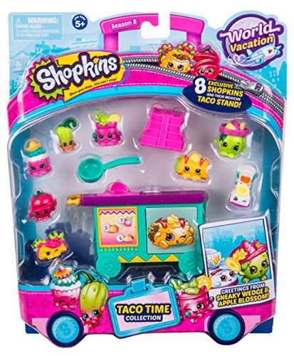 Shopkins Season 8 America Mexico Themed (Themed Pack)