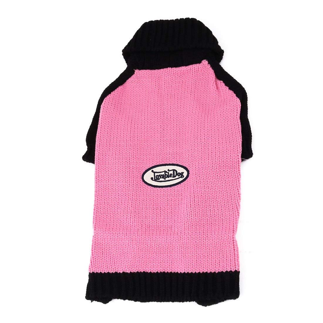 Acrylic Household Winter Autumn Puppy Dog Warming Knit Sweater Clothes Apparel