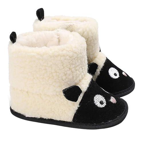 Haorw Bebé recién Nacido Botas de Nieve de Invierno Ovejas de ...