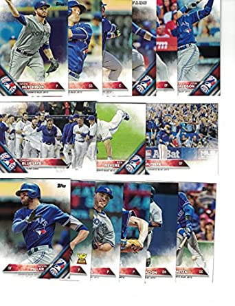 the best attitude a2c51 74824 Toronto Blue Jays / Complete 2016 Topps Series 1 & 2 ...
