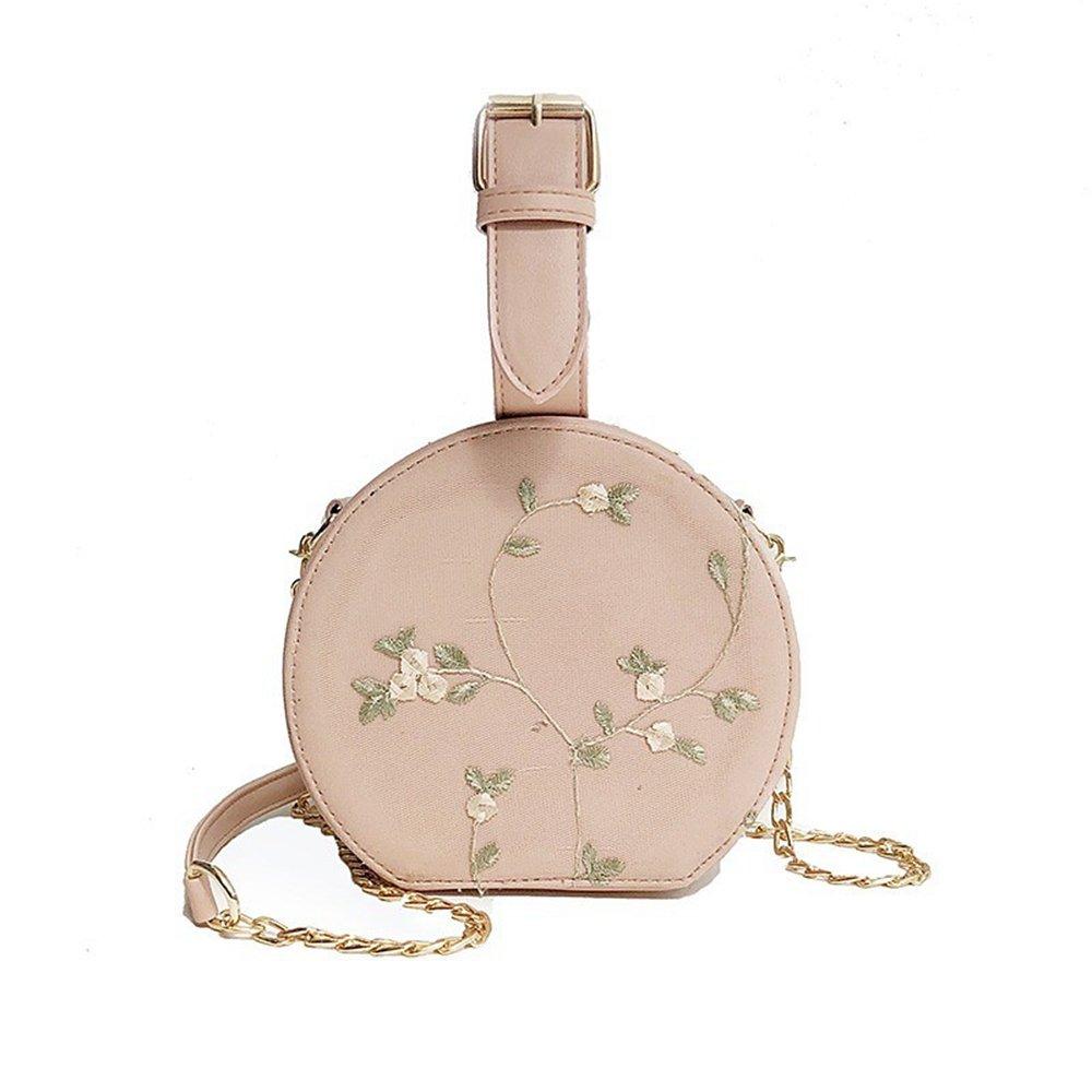 c14d02fb6a2a Amazon.com: GMYANDJB Women's Bags PU Polyurethane Shoulder Bag Lace ...