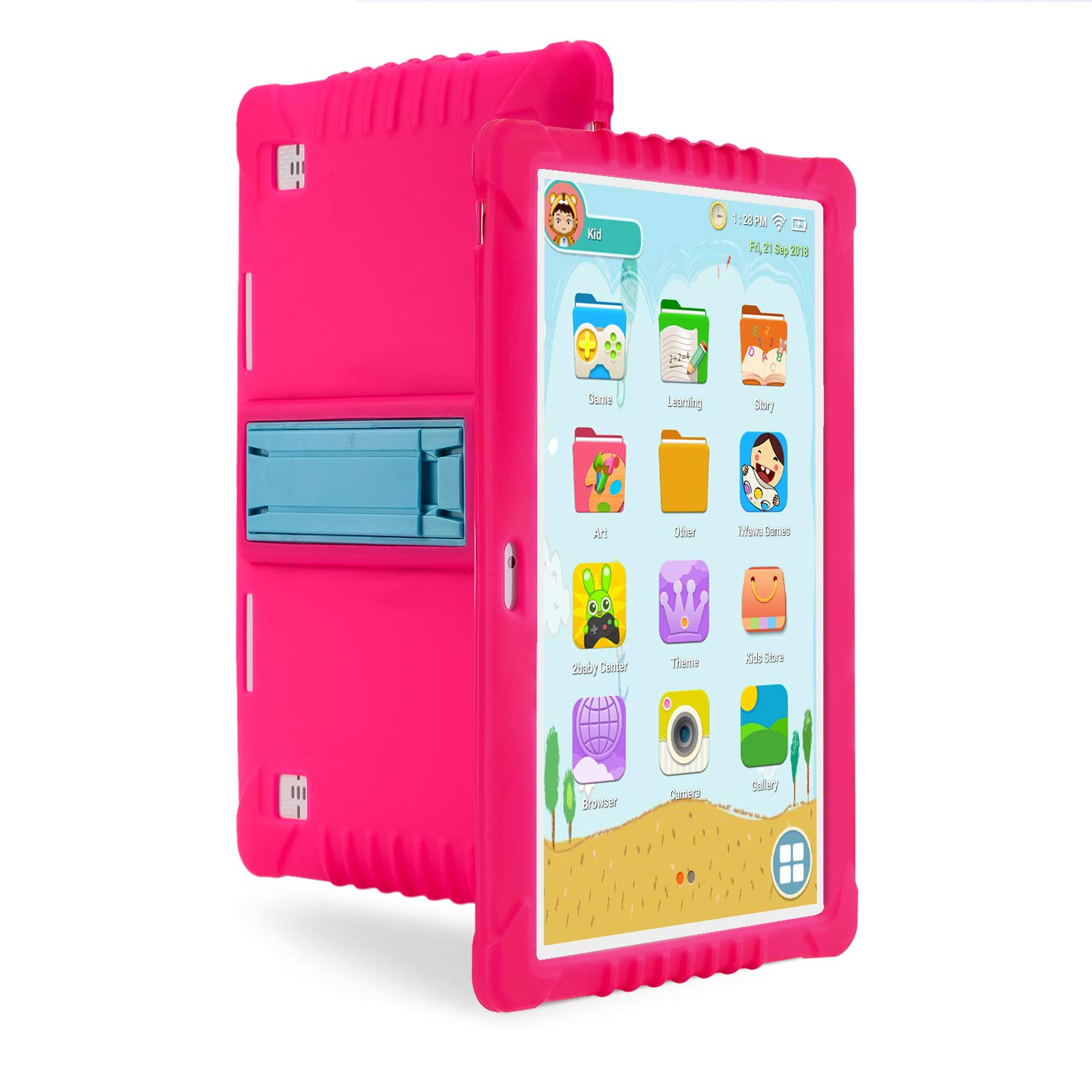 3G Tablet Bambini,SANNUO 10 Pollici Kids Tablet con WiFi (Android 6.0, Quad-Core, 1 + 16 GB, Doble Cámara, Google Play, Juegos Educativos)