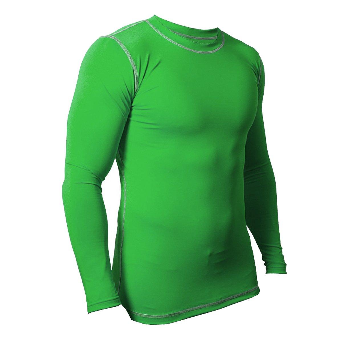FLOSO - Camiseta de manga larga interior térmica para hombre