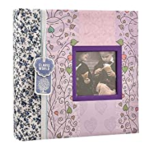"Arpan 6""x4"" Designer Photo Album with Window and 200 Slip In Memo Pockets"