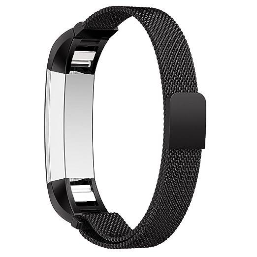 2 opinioni per Bepack Fitbit Alta and Alta HR Cinturino, Bracciale in Acciaio Regolabile