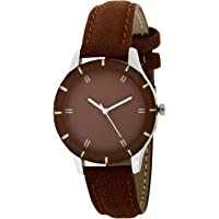 Generic Analog Brown Dial Watch for Girls - BN234
