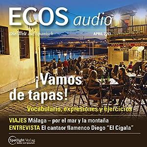 ECOS audio - Vamos de tapas. 4/2013 Hörbuch