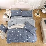 Duvet Cover Bedding Set Includes Duvet Cover Flat Sheet Pillowcase No Comforter MJ Twin Full Queen IKEA Tree Wall Street Casino Angela Design Children Teens (Cazino, Grey, Twin, 59''x78'')