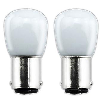 15w La Ampoule Sbc 2 Petit De Réfrigérateurmachine 1 À 220v Ba15d B15 Équivalent Pcs Lampe Halogène 5w Led Bonlux Coudre Baïonnette USpGqVzM