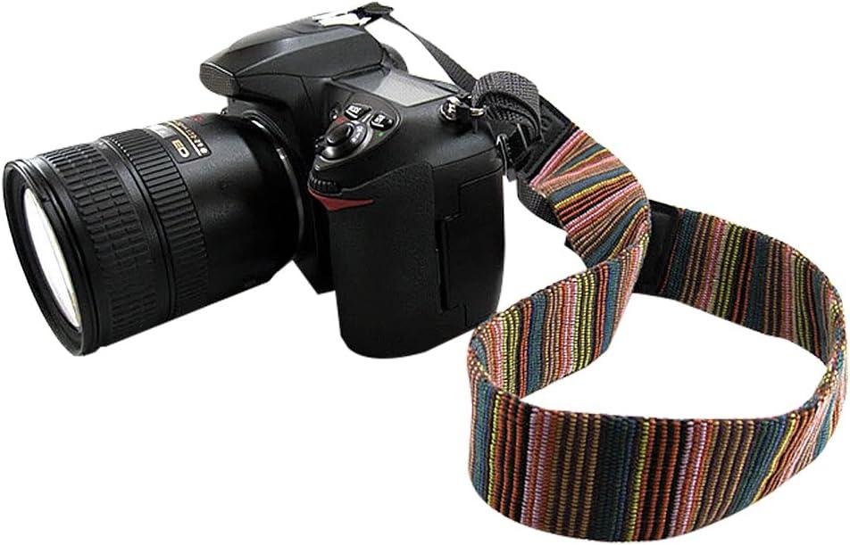 Arzweyk Universal Camera Neck Shoulder Strap Casual Vintage Neck Shoulder Camera Belt Compatible with All DSLR Camera Nikon//Canon//Sony//Olympus//Samsung//Pentax ETC//Olympus