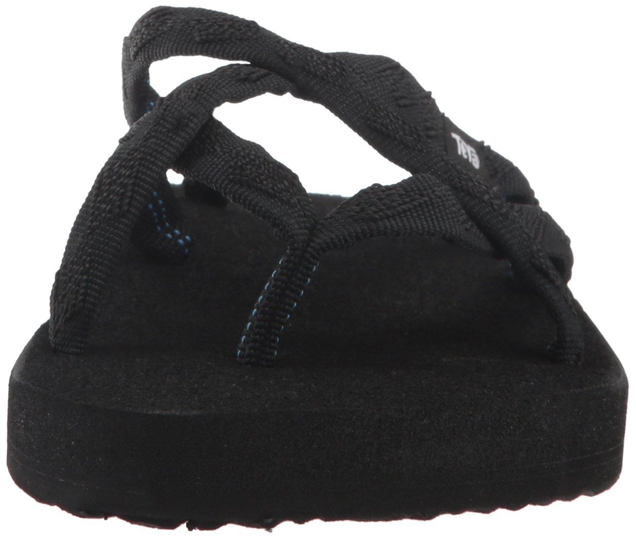 Teva Olowahu W's Sandalen Damen Sport- & Outdoor Sandalen W's Mix B schwarz On schwarz 4cb7f6
