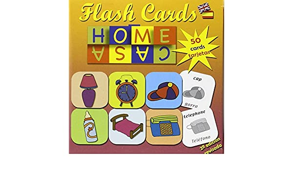 Tarjetas vocabulario infantil Inglés-español. Cosas de casa: Alfonso Anaya Hortal: 9788495734112: Amazon.com: Books