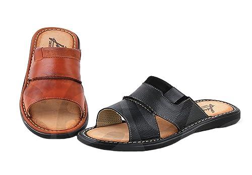 880540367b0 Jucaro - 6556 - Sandalia Caballero Piel  Amazon.es  Zapatos y complementos