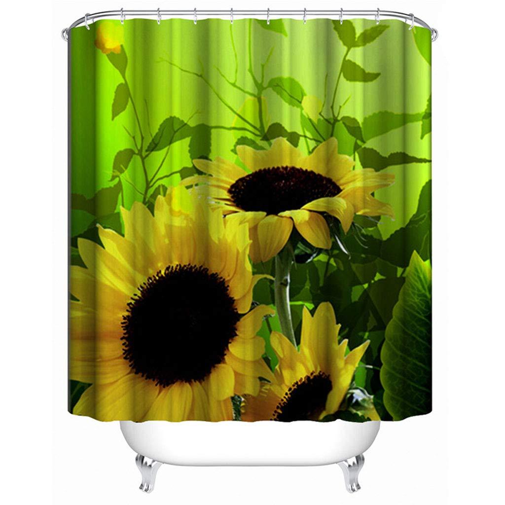 JiuErDP Mampara de baño Impermeable Engrosamiento baño de Moho Cortina de Ducha Cortina Cortina de la Ducha (Size : 180 * 200cm): Amazon.es: Hogar