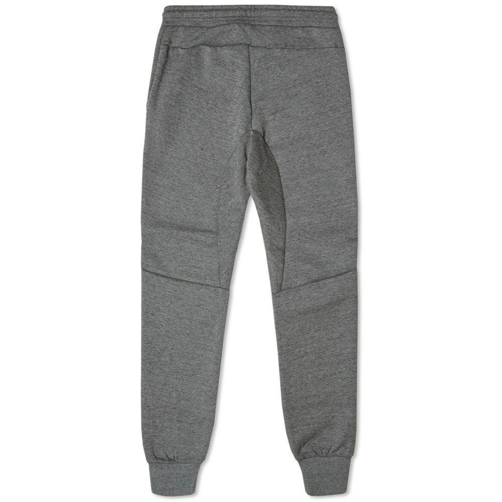 buy online 81950 1a7ce Nike mens TECH FLEECE PANT 545343-037 L - TUMBLED GREY BLACK HTR VOLT   Amazon.co.uk  Sports   Outdoors