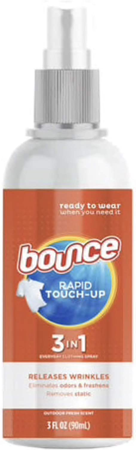 Bounce Touch Up 3 in1Travel Size Anti Static Spray 3oz bottle