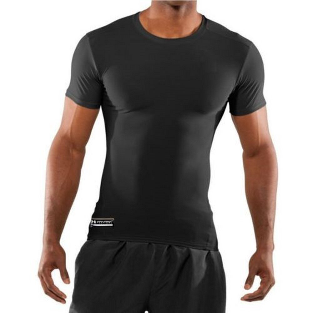 480a38cc1c15 Under Armour Men's UA Tactical Heatgear Compression T Shirt BLACK 1216007  2XL Apparel