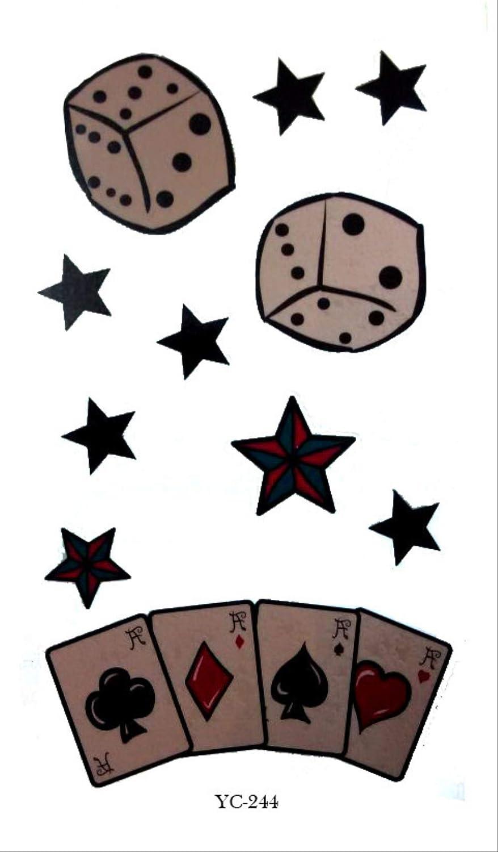 Hombres y mujeres dados poker stars impermeable protección del ...