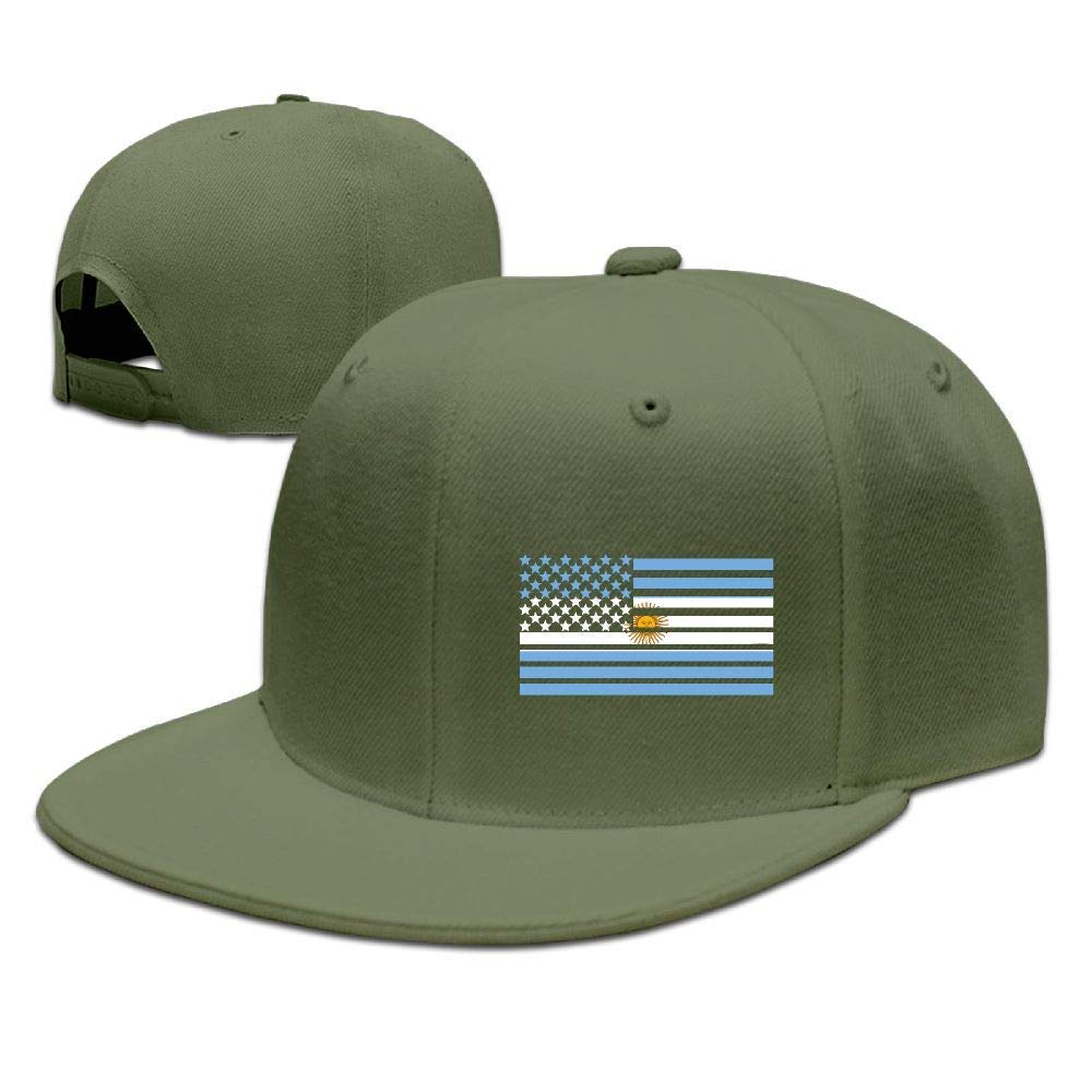 DAIAII Hombre Mujer Gorras de béisbol, American Argentina Flag Men ...
