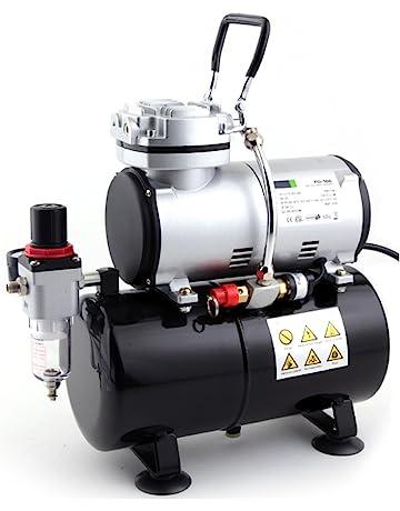 Compresor de aerógrafo Fengda FD-186 con calderín / ORIGINAL FENGDA / regulador de presión. #2