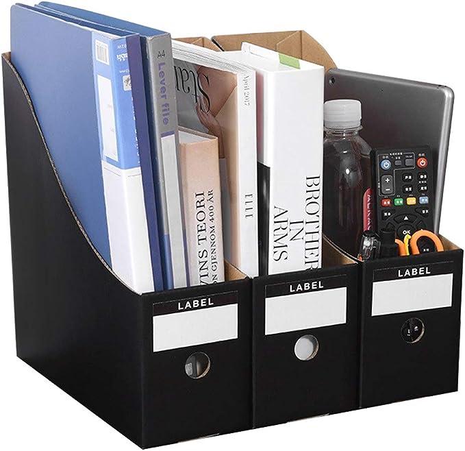 3 revisteros de papel kraft para revistas manualidades caja ...