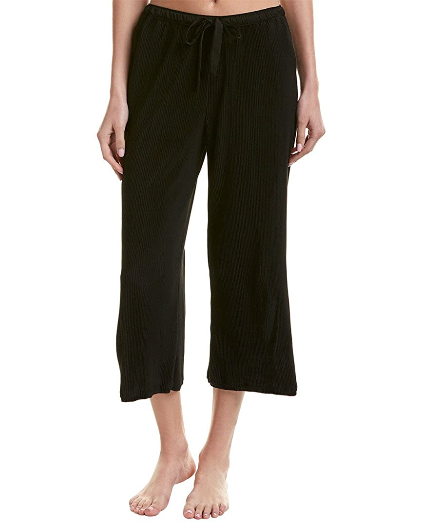 Donna Karan Womens Pleated Jersey Capri Pants