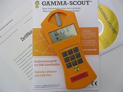 GAMMA de scout Contador Geiger W/Alert con ticker & Alarma ...