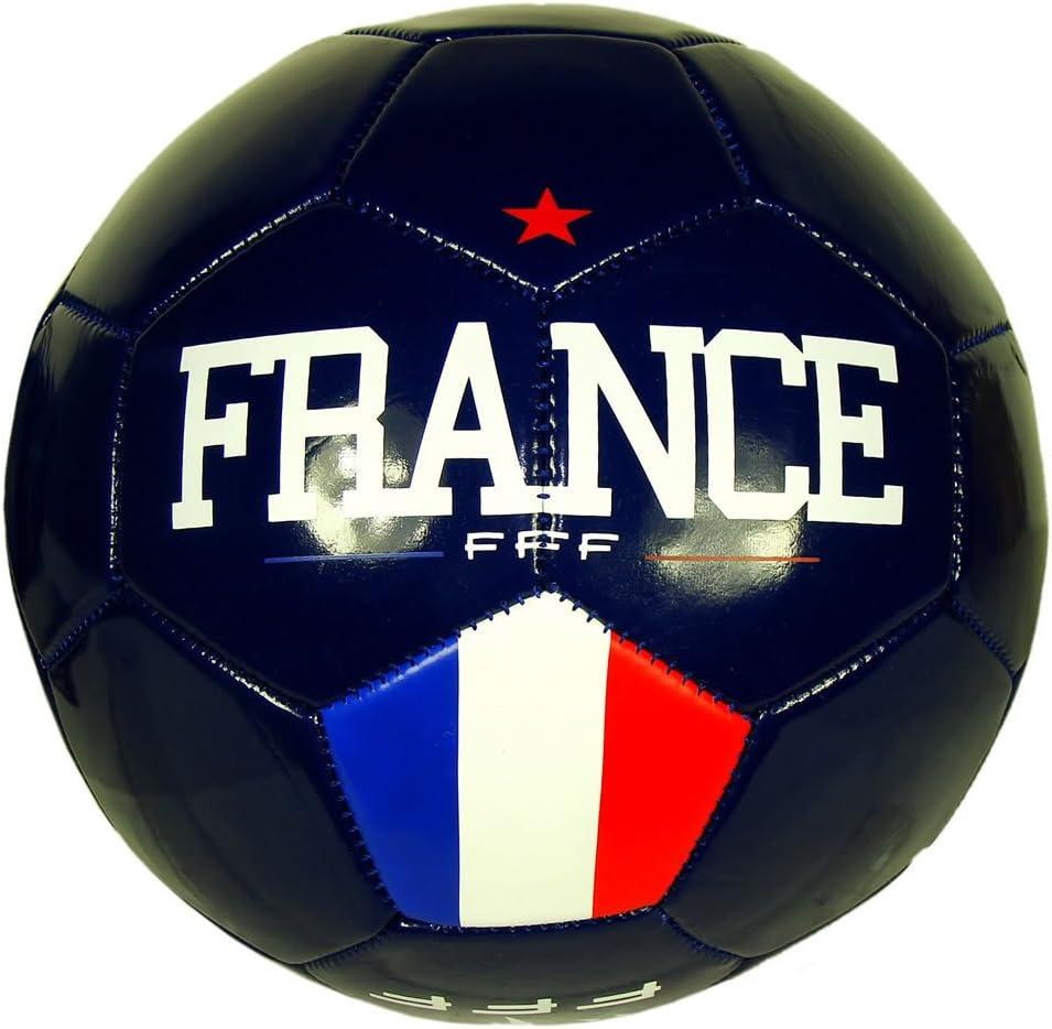 Federación Francesa de Fútbol – Balón de fútbol FFF oficial – azul ...
