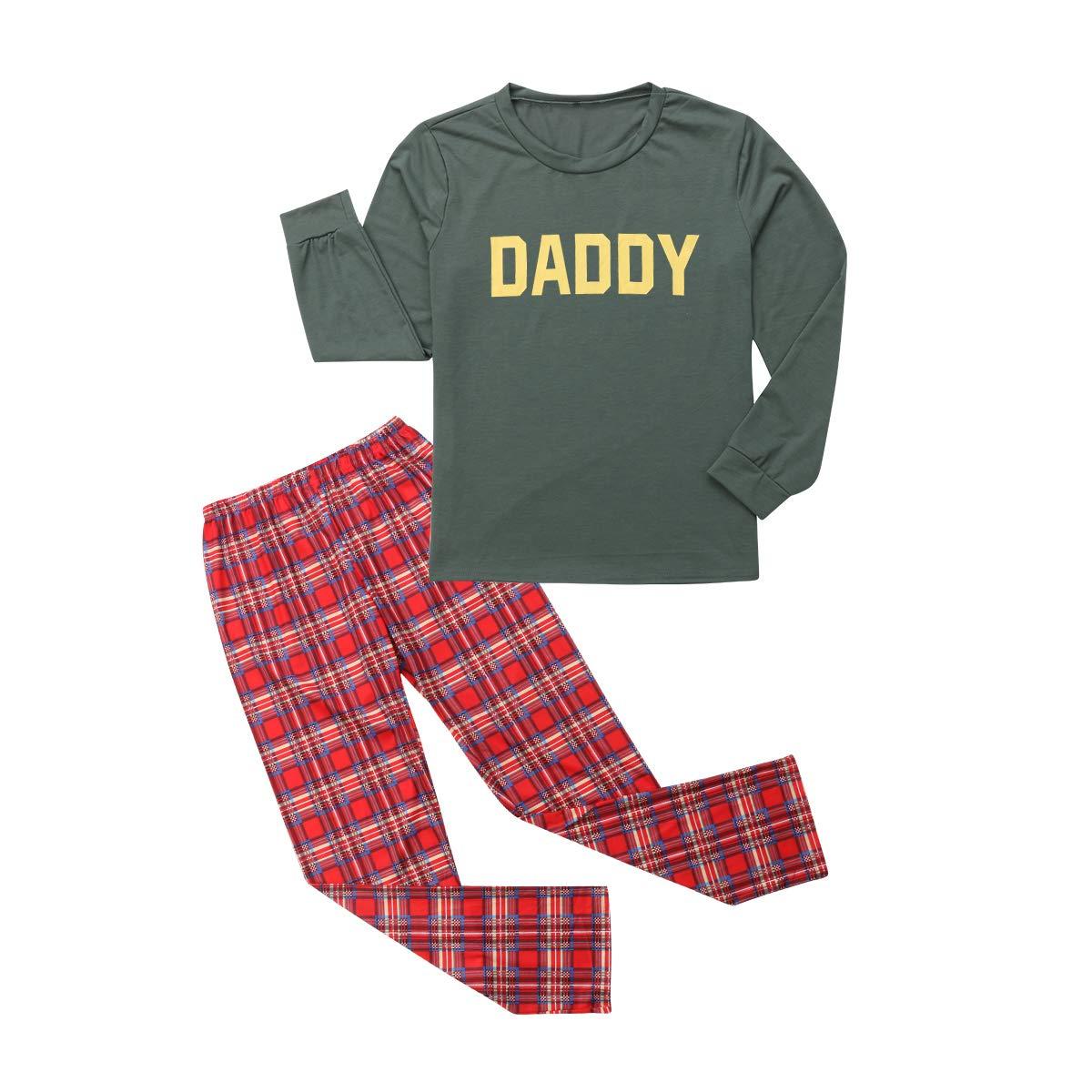 Pajamas De Navidad A Juego Para Ninos Y Adultos Conjunto De Pijama
