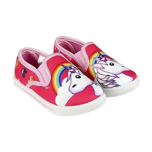Zapatillas de loneta Emoji Unicornio con Gomas T.27: Amazon.es: Zapatos y complementos