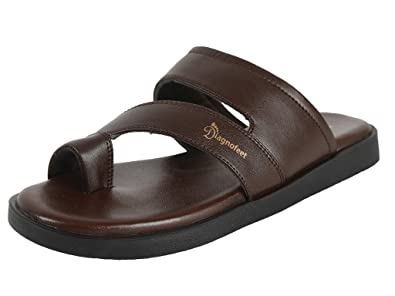 41b13a705a RTS D3 Diagnofeet Men Brown Orthopedic Accupressure Speciality Sandals -  Size 11: Buy Online at Low Prices in India - Amazon.in