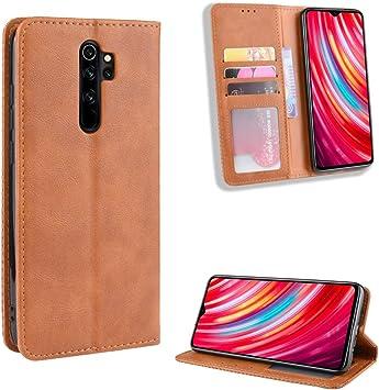 Amazon Com Jielangxin Keji Case For Xiaomi Redmi Note 8 Pro Case Cover Case For Xiaomi Redmi Note 8 Pro M1906g7e M1906g7g M1906g7t Case Pu Leather Flip Cover Brown Electronics