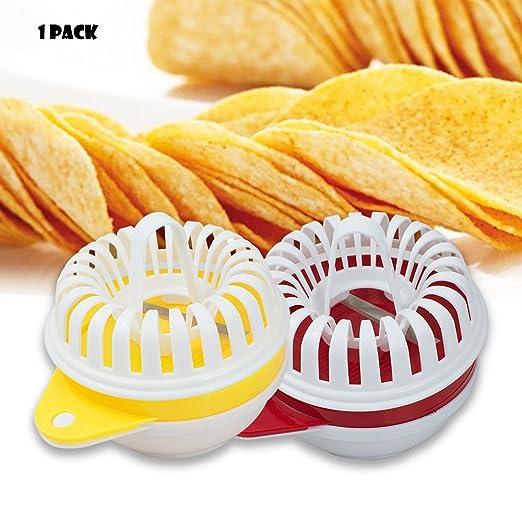 genmine microondas de patatas Chip cortador de eléctrica Home DIY ...