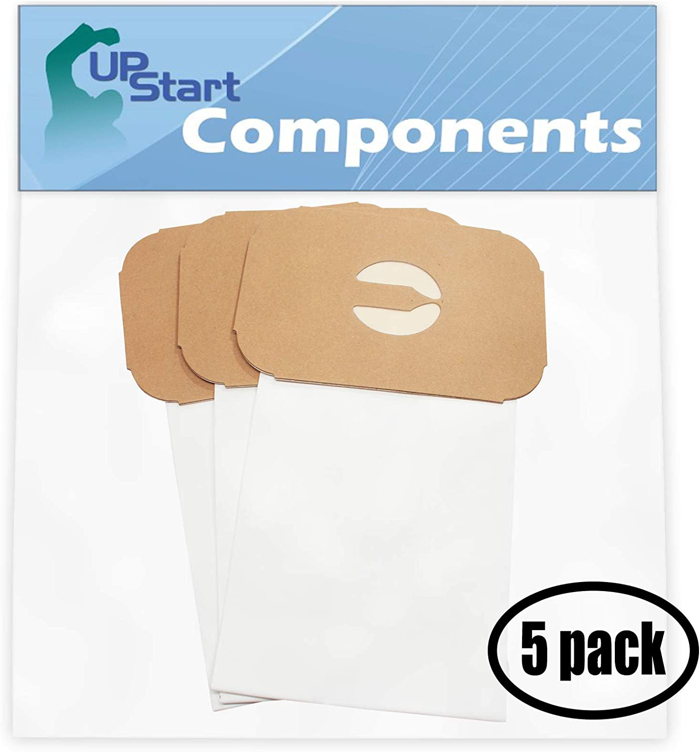 Upstart Battery 15 Replacement for Aerus/Electrolux Diamond Jubilee Style C Vacuum Bags - Compatible with Aerus/Electrolux Canister Tank Type C Vacuum Bags (5-Pack - 3 Vacuum Bags per Pack)