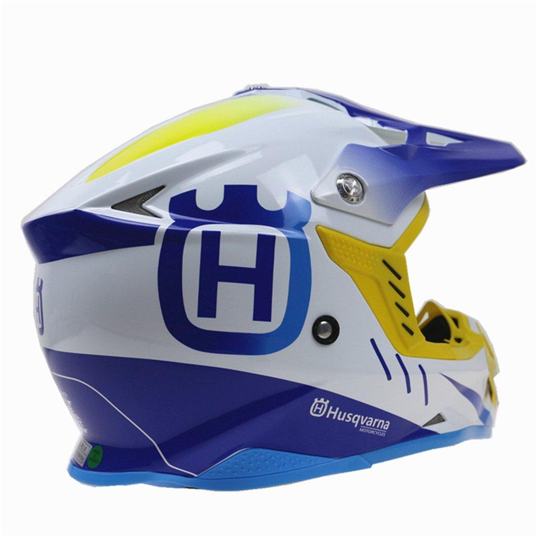 MATEROP Casco de Moto Cross Bike Helmet Dot ECE Approved Off Road Casco: Amazon.es: Deportes y aire libre