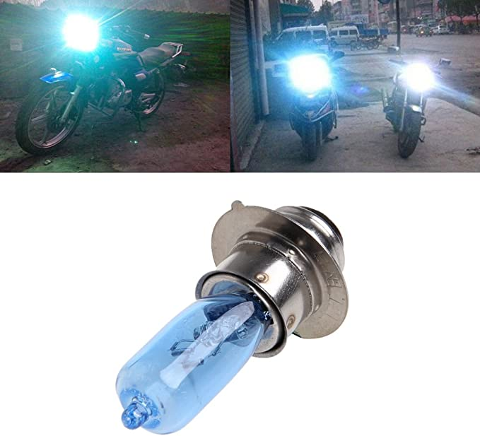 12V 35W White ATV Moped Scooter Motorcycle Head Light Lamp Bulb B35 BA20D