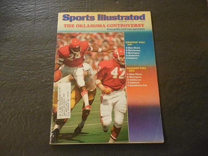 Sports Illustrated Nov 4 1974 ...