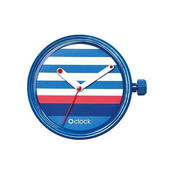 O Bag Relojes o Clock Lines – Cobalto