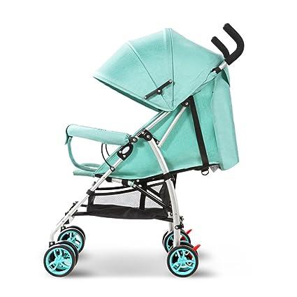 Baby carriage Carrito De Bebé Ligero Plegable Puede Sentarse/Mentir ...