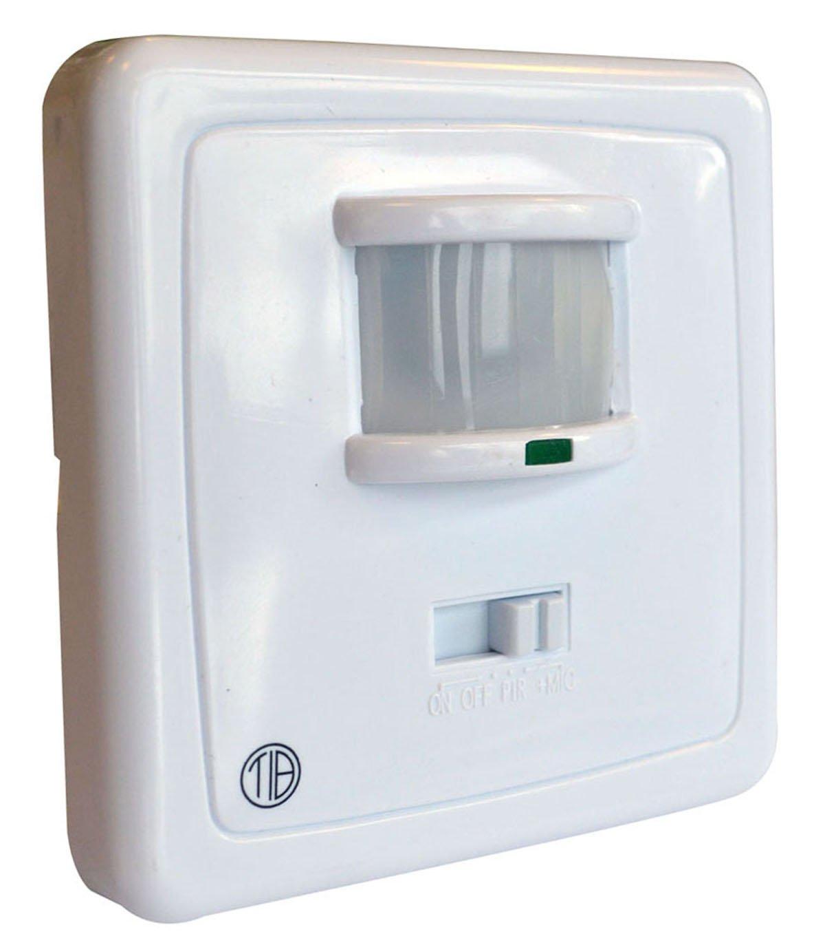 Tibelec 272120 - Interruptor del sensor de movimiento/ruido del sensor de infrarrojos