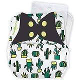 bumGenius Original One-Size Pocket-Style Cloth Diaper 5.0 (CACTacular)