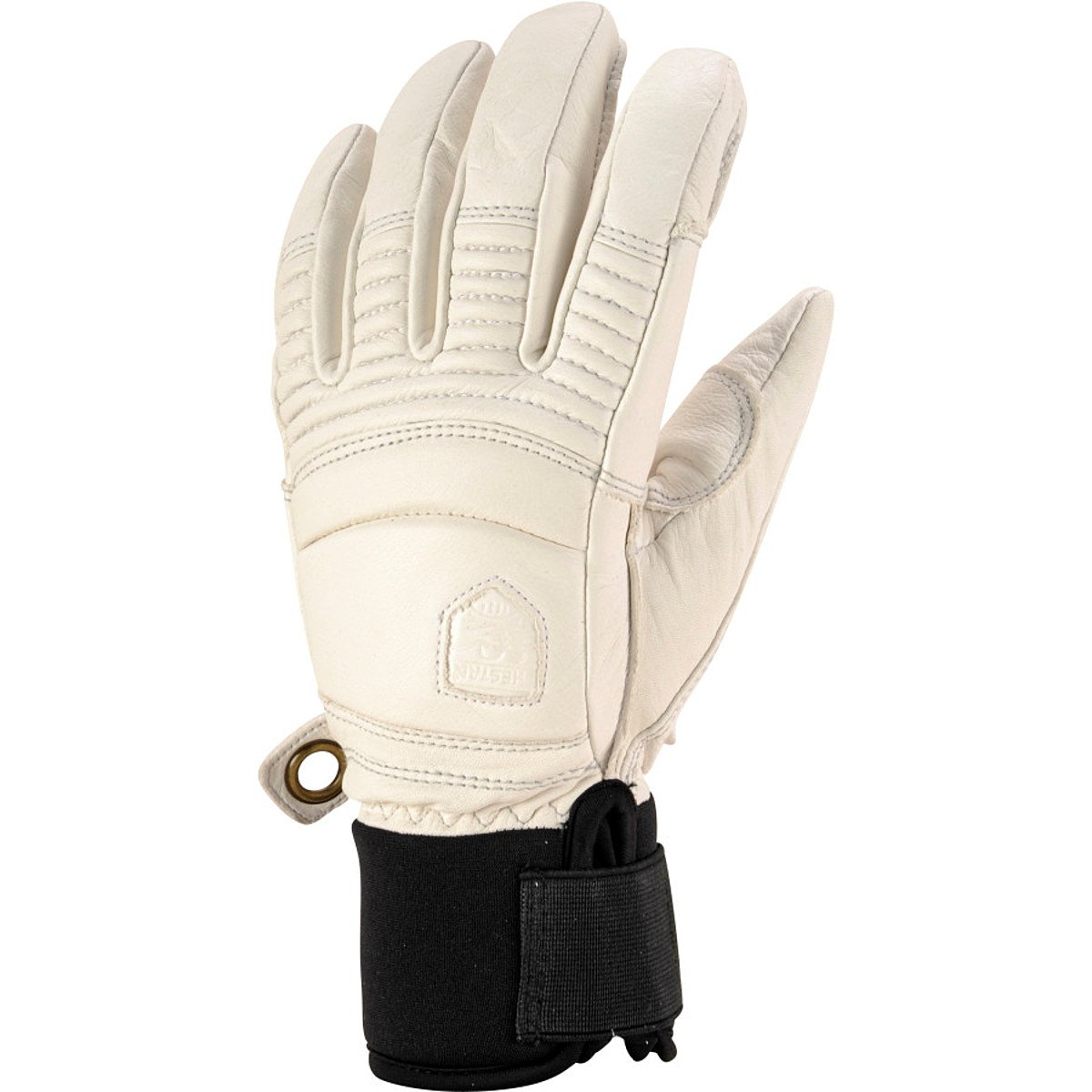 Hestra Gloves 31470 Leather Fall Line, Offwhite - 7