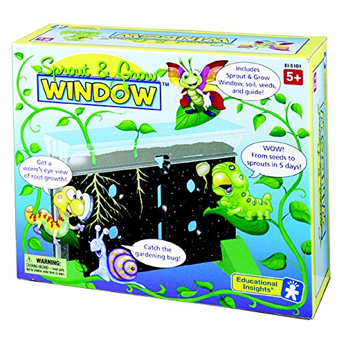 EDUCATIONAL INSIGHTS SPROUT & GROW WINDOW GR K & UP (Set of 3)